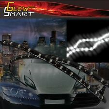 """18"""" White LED Strip (2-piece) for Car Boat and Motorcycle & Parties"""