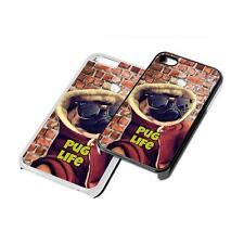 Perro Carlino vida del gamberro Funda De Teléfono para iPhone 4 5 6 7 iPod iPad