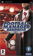 FOOTBALL Manager Handheld 2008 (PSP) NUOVO & Sigillato in Fabbrica