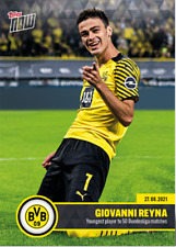 ➠ Topps Now BVB #1 Giovanni Reyna - Borussia Dortmund Youngest Player 50 matches