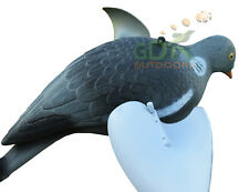 2 x Pigeon Decoy, avec Spinning WINGS, Pour Rotary, aimant, Decoying, Spinning WING