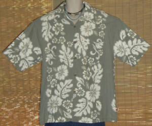 MCD Classics Hawaiian Shirt Dusty Green Large