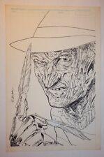 Freddy Krueger's A Nightmare on Elm Street #? Cover? Splash? - 1989 Rich Buckler