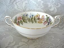 Collectible PARAGON Country Lane Fine Bone China Double Handle Soup Bowl-England