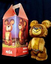 XXII Moscow-1980 Olympics Games Polymer Mascot MISHA in Original Box