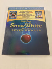 2009 Snow White and the Seven Dwarfs STEELBOOK Case (No Movie!) Diamond Sealed