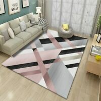 Modern Geometric Carpet for Living Room Bedroom Floor Mats Area Rug Decor New