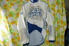 Fassa Bortolo Italy Made Pearl Izumi Windbreaker Cycling Jacket Jersey Medium