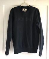 Chrome Industries Black Cotton Crewneck Pullover Sweatshirt Sweater Size M