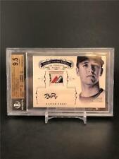 2012 NATIONAL TREASURES BUSTER POSEY PRIME MAJESTIC TAG PATCH AUTO 5/7 GIANTS