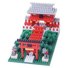 nanoblock Inari Shrine nano blocks micro size blocks Puzzle Kawada Nbh-108 New