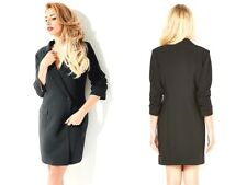 Stacey Solomon~Black Tailored Jacket Dress~Size 10 ~ [R15]