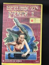 Return To Eden 1 Ex-Rental Vintage Big Box VHS Tape English with dutch subs