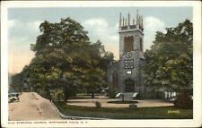 Wappingers Falls NY Zion Episcopal Church c1910 Postcard