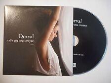 DORVAL : CELLE QUE VOUS CROYEZ ▓ CD ALBUM PORT GRATUIT ▓