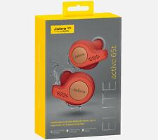 NEW Jabra Elite Active 65t True wireless Earbuds Alexa Bluetooth 5 EarGels™ Red