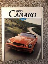 1980 Chevrolet Camaro Rally Sport Z-28 Original Sales Brochure