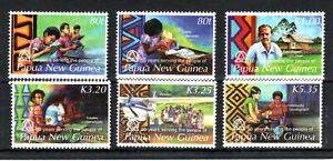 Papua New Guinea 2006 Linguistics Anniversary set MNH