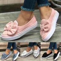 Women's Floral Suede Loafers Moccasins Pumps Slip On Flats Platform Casual Shoes