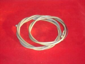 Vintage Campagnolo Front And Rear Brake Cable With Gray Housing. NOS