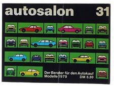 Autosalon Band 31 Autokatalog aus 1979 in Buchform - Sammlerstück