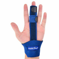 Relief Trigger Finger Splint Orthotics Brace Straightening Curved Locked Mallet