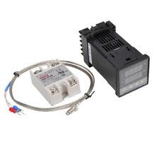 REX-C100 110-240V 1300 Degree Digital PID Temperature Controller Kit with 400 De