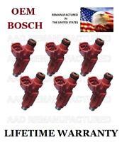 Bosch HDB305F Flow Matched Set OEM Fuel Injectors Mitsubishi 3.8L V6 Motor Man