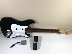 PS3/PS4 Fender Stratocaster Wireless Rock Band Guitar with Dongle TESTED