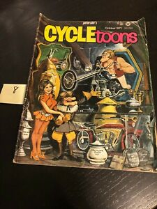 Petersens Cycle Toons Magazine October 1971 RARE