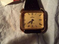 OMEGA de VILLE señora reloj vintage 1976 NOS Warranty white
