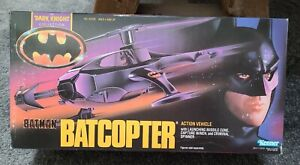 Batman Batcopter Dark Knight Kenner Action Vehicle helicopter plane new sealed