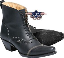 Damen Stiefelette Country Western Cowboy-Stiefel Ankle Boots »ASHLEY« S&S