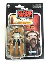 "STAR WARS VINTAGE COLLECTION Clone Commander Wolffe 3.75"" ACTION FIGURE VC 168"