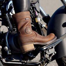 Falco Ayda 2 Ladies Waterproof Brown Motorcycle Motorbike Boots