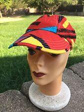 Retro 1980s ORIGINAL JAMS HAT colorful Boys Size Child's Red 1990s Cap Baseball