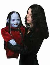 Morris Costumes New Baby Blue Vampire Latex Nocturna Puppet Scary Props. TA310