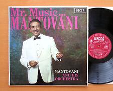 LK 4811 Mr Music... Mantovani & His Orchestra 1966 NM/EX Decca Mono