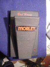 Morley Steve Vai Vintage Bad Horsie Wah Pedal Mid 1990's  Rare!! PRICE DROP