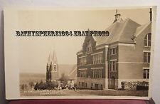 Marathon City Wisconsin Wi Real Photo Postcard St. Joseph School Mary Church '12