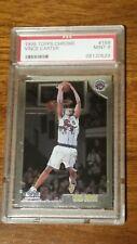 1998-99 Topps Chrome Vince Carter rookie card PSA 9 Mint #199