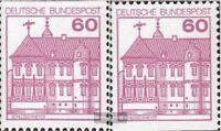BRD (BR.Deutschland) 1028C-1028D (kompl.Ausgabe) gestempelt 1979 Burgen und Schl