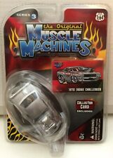 2007 The Original Muscle Machines 1970 Dodge Challenger Series 3, 1/64 Moc