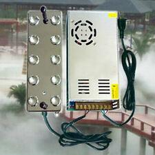 10 head Ultrasonic mist maker fogger humidifier w/ transformer 110V US STOCK