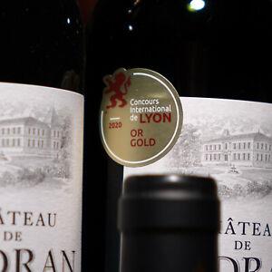 """Arrivage! 12 Flaschen 2018er Château de Sadran, Gold """"Intern. Concours Lyon"""" 97+"""