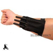 "3 Pc 6"" Ninja Tactical Throwing Spike Set w/ Sheath Dart Quills Knife Gear NEW"