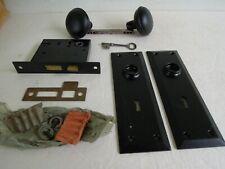 Vintage Inside Lockset With Skeleton Key - New Old Stock - Berkeley Russwin