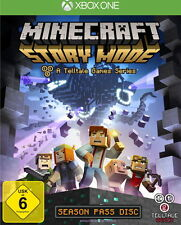 Minecraft: Story Mode - A Telltale Games Series (Microsoft Xbox One, 2015, DVD-Box)