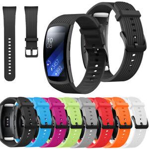 Silikon Sport Ersatz Band Armband Für Samsung Gear Fit 2 Gear Fit 2 Pro