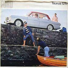 Ford Taunus 12M 1965/66 Original Large Format German Sales Brochure No. 5700021